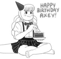 Happy Birthday Axey