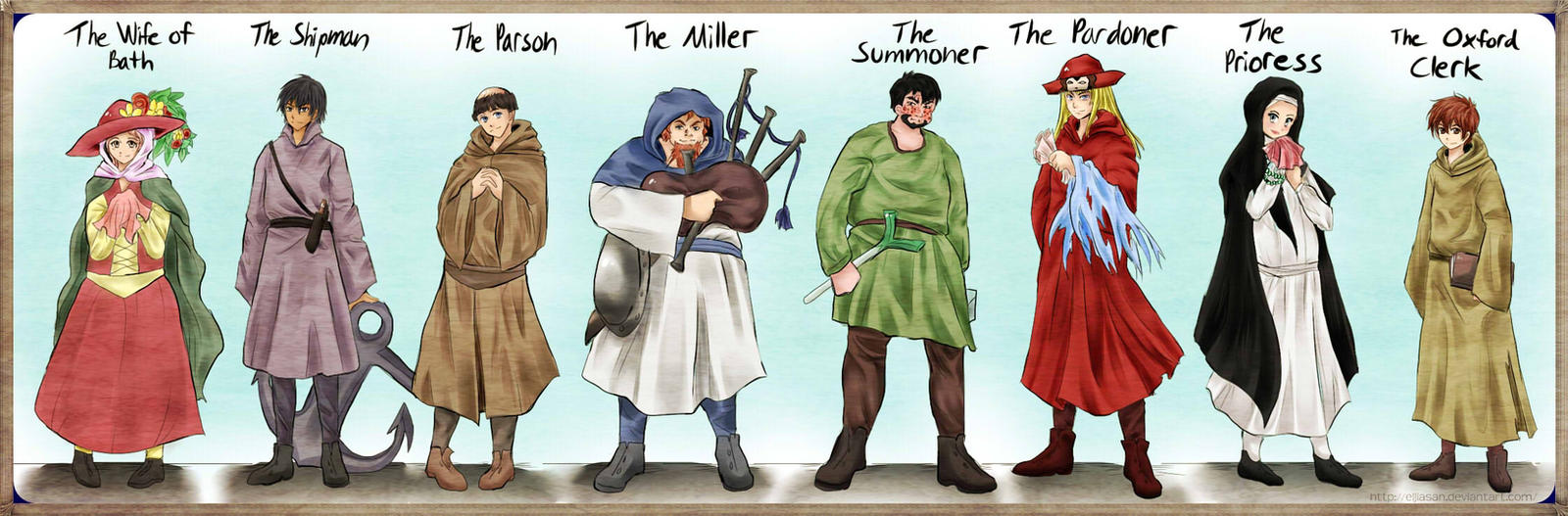 the canterbury tales by eljiasan on the canterbury tales by eljiasan the canterbury tales by eljiasan