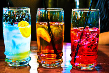 Cold Drinks by PoshPhotos