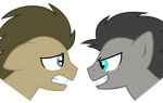Two Sides of Doctor Whooves
