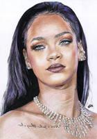 Rihanna 5 by cherrymidnight