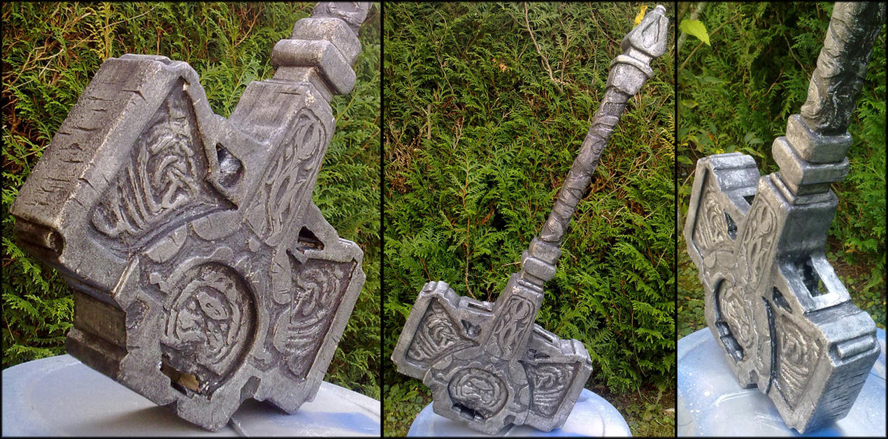 Mjollnir from Tomb Raider by Dj3r0m