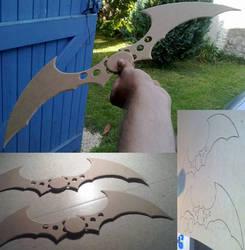 My batarangs by Dj3r0m