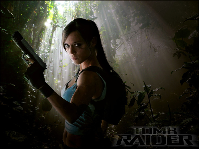 Lara Croft by Dj3r0m
