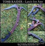 [TOMB RAIDER] Lara's Ice Axe