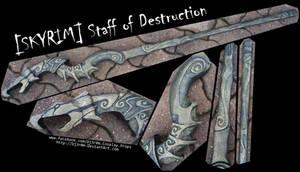 [SKYRIM] Staff Of Destruction