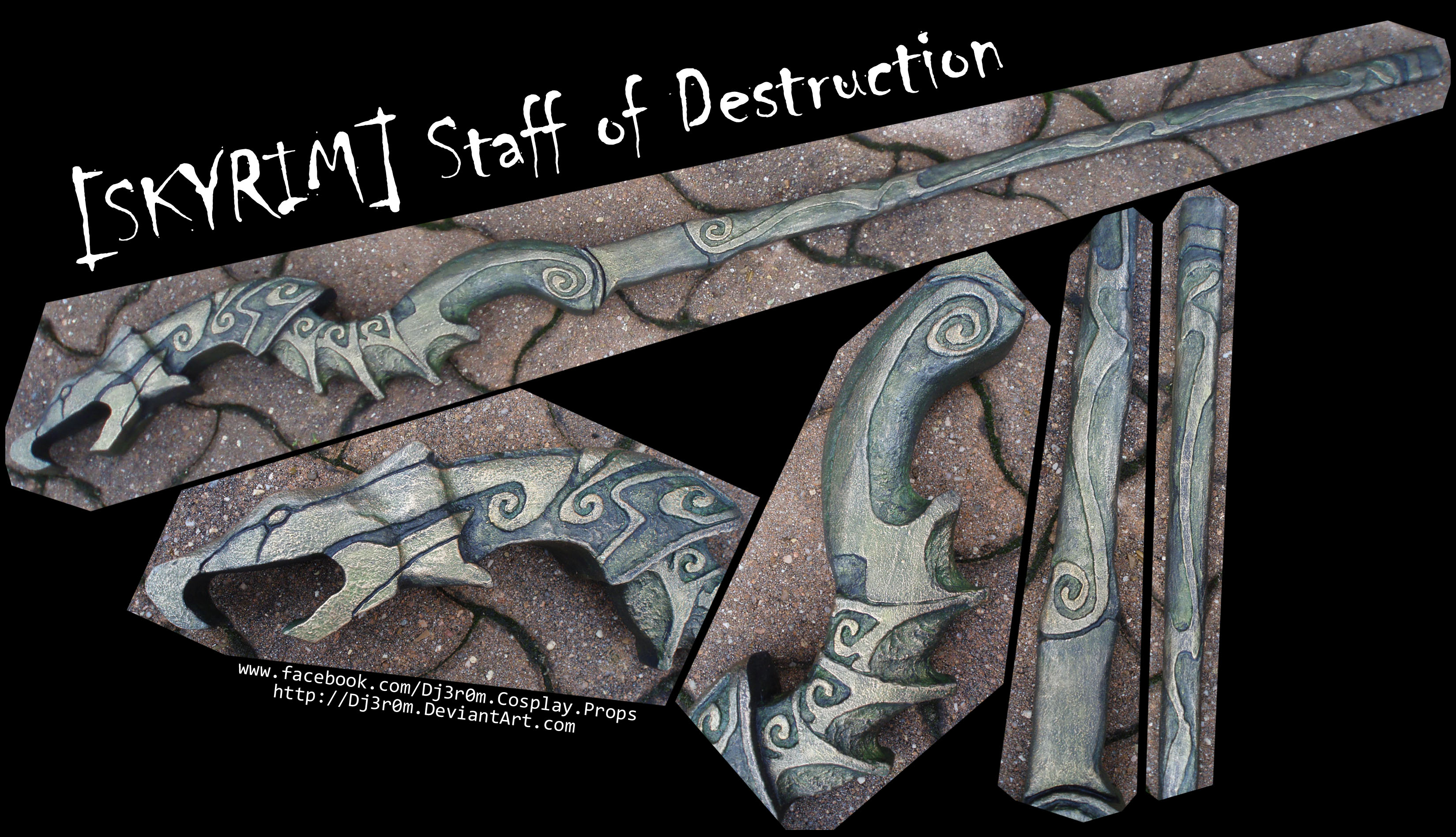 [SKYRIM] Staff Of Destruction by Dj3r0m