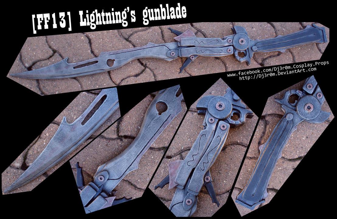 [FF13] Lightning's Gunblade by Dj3r0m
