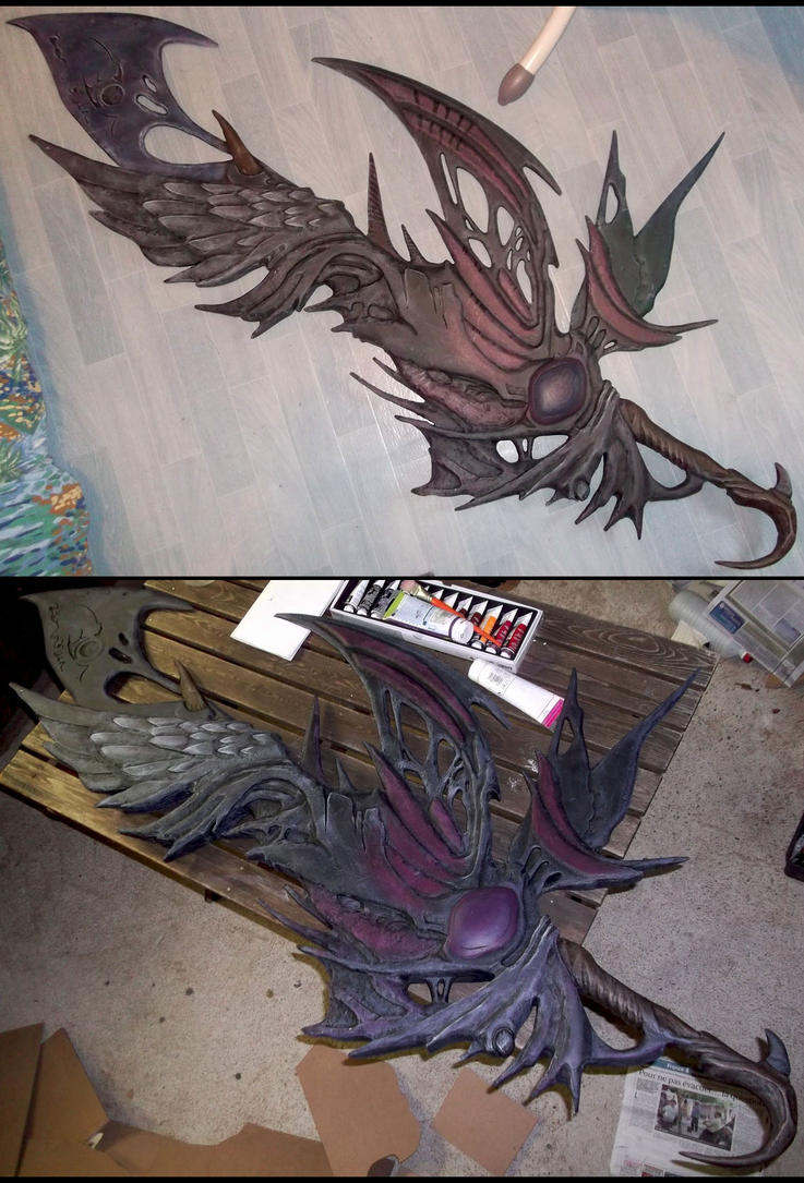 [FINAL FANTASY 13-2] Caius' Sword (WIP #4) by Dj3r0m