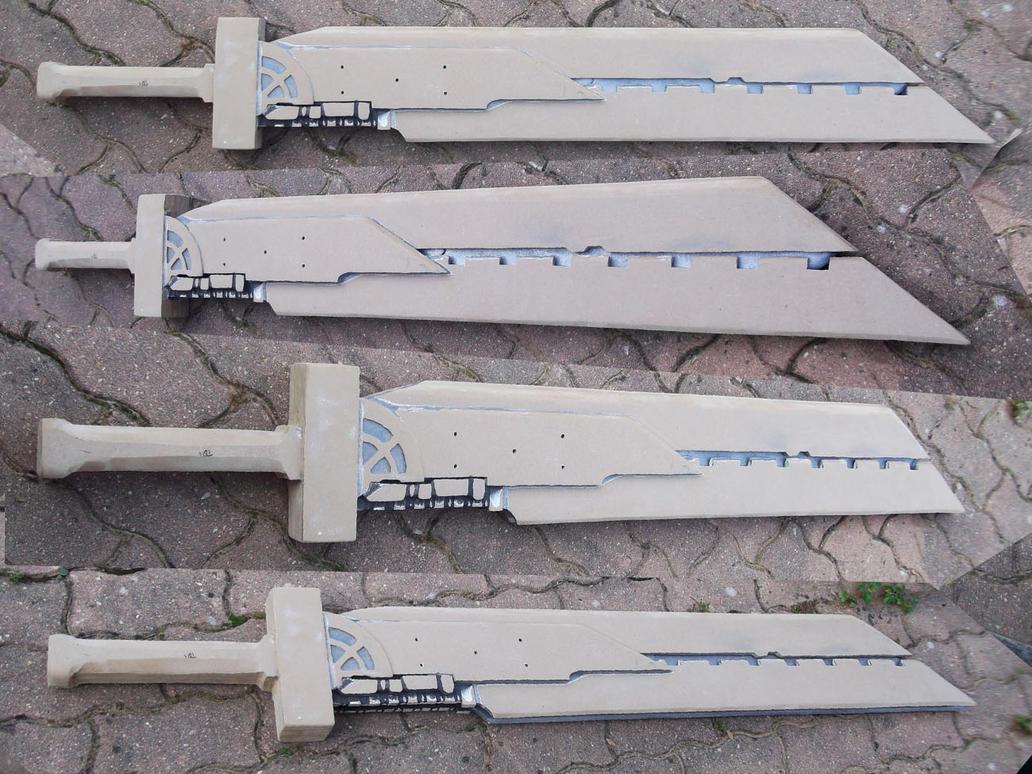 [FINAL FANTASY 7] Cloud's Sword (WIP) by Dj3r0m