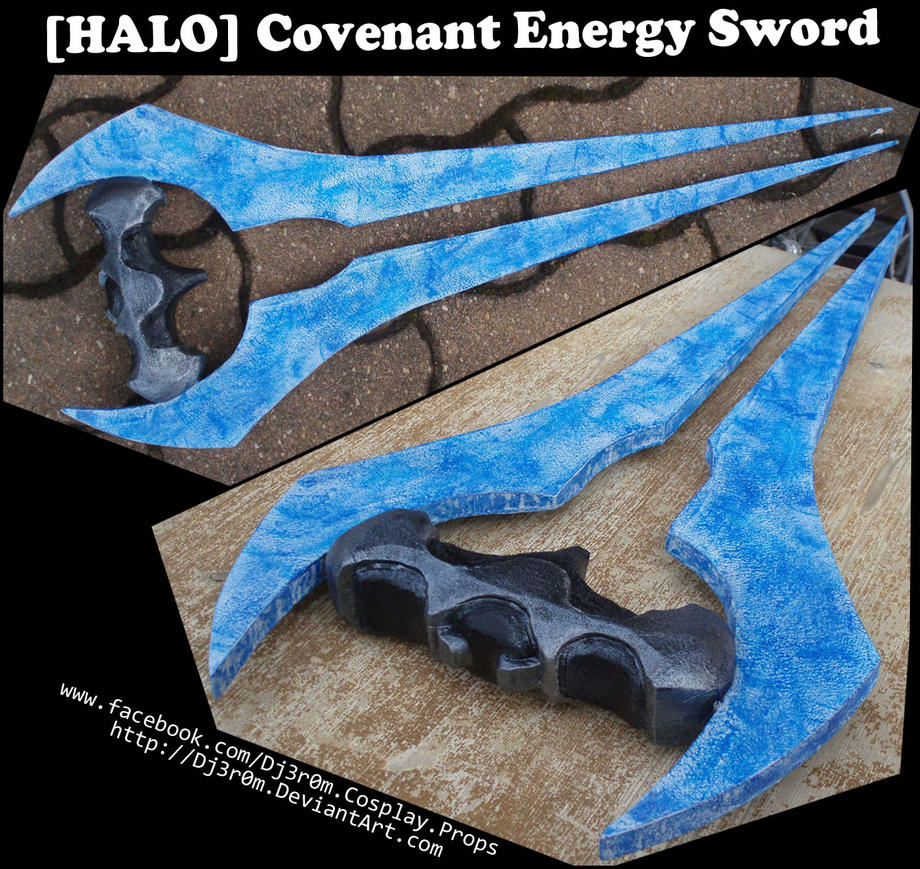 [HALO] Covenant Energy Sword by Dj3r0m