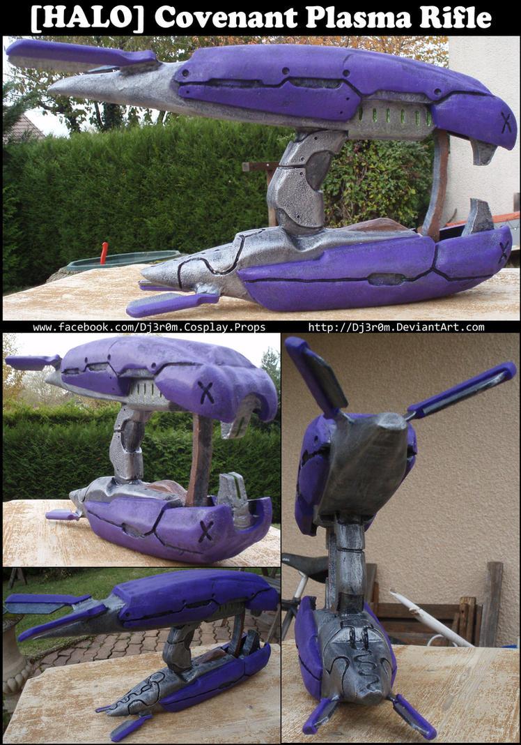 [HALO] Covenant Plasma Rifle by Dj3r0m