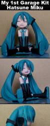 My 1st Garage Kit : Hatsune Miku by Dj3r0m