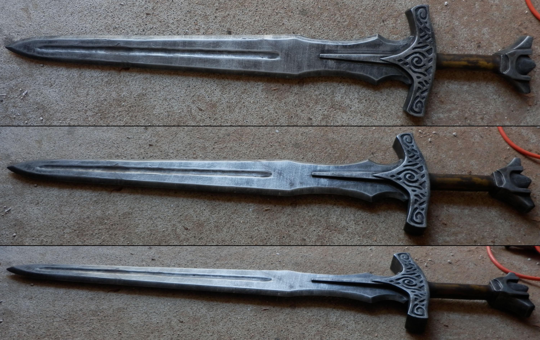 [SKYRIM] Steel Sword v2 by Dj3r0m