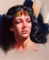 Wonder Woman by AbdonJRomero