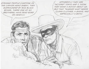 THE ONE AND ONLY LONE RANGER AND TONTO