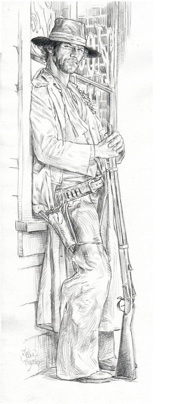 A cowboy with attitude by AbdonJRomero