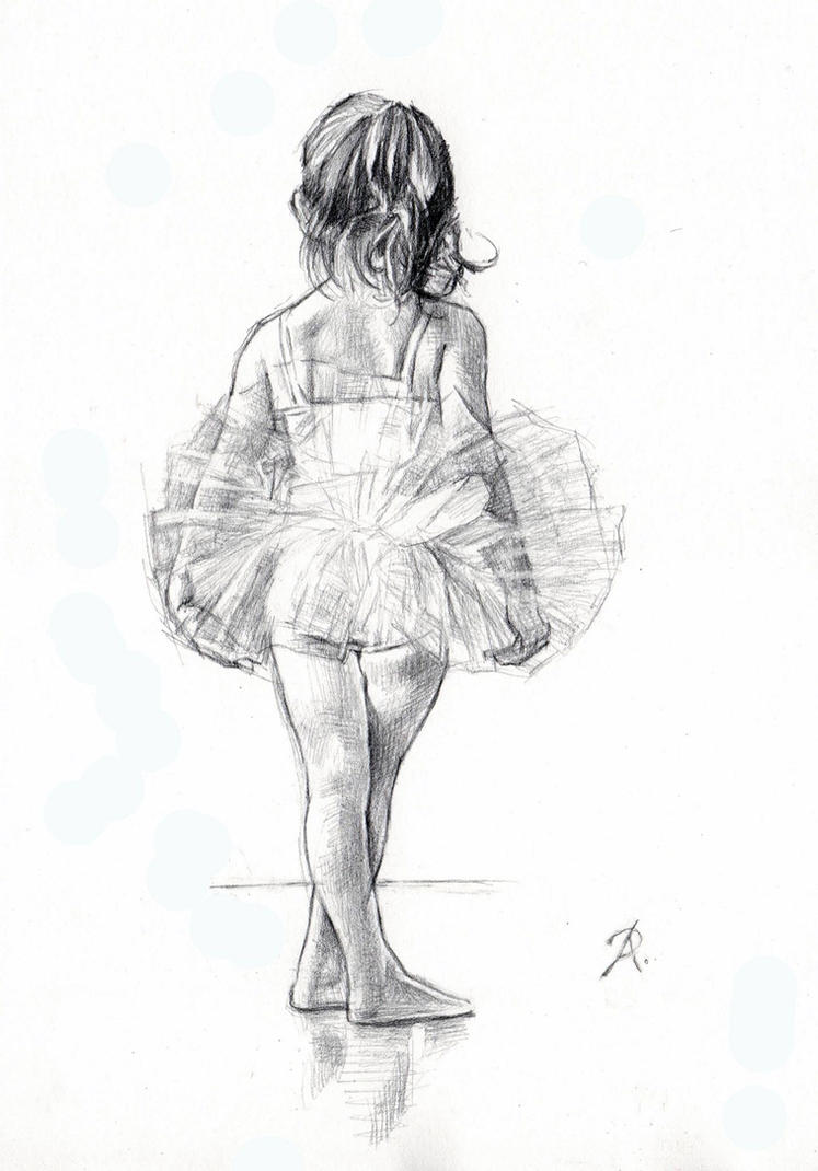 LITTLE BALLERINA by AbdonJRomero