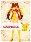 Winx Club Fairy Adoptable - Pikachu