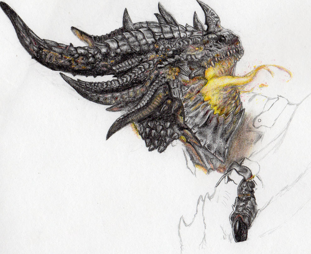 Dragon by snbhmmz