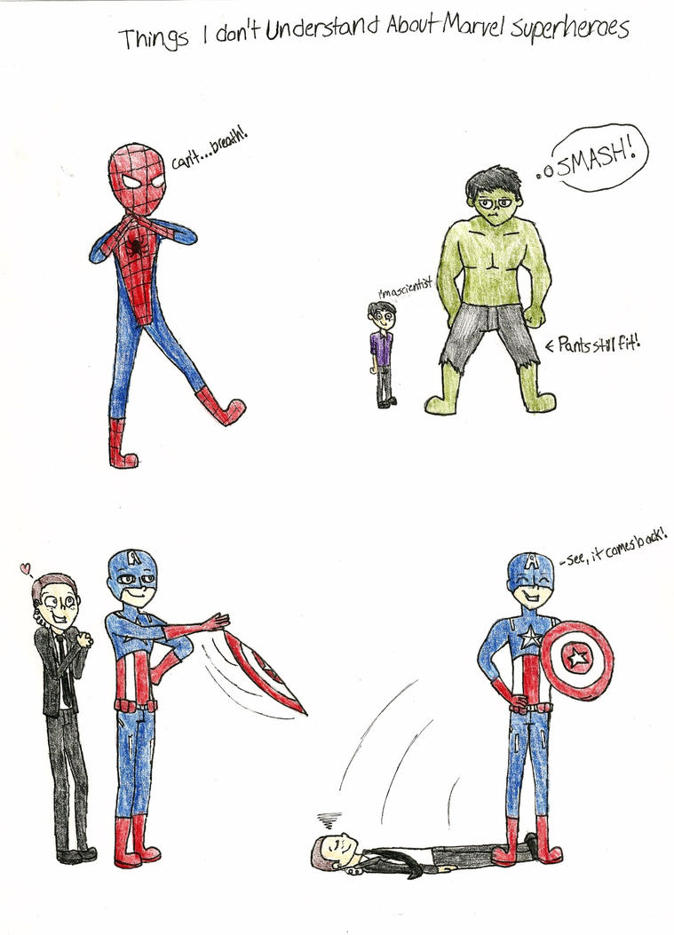 ... Understand About Marvel Superheroes by Electriclynx on DeviantArt