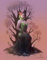 Fanart: Poison Ivy by m-renoir