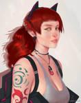 Portrait: Roxanne