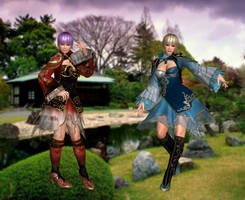 Ayane(Warriors Orochi) Dead Or Alive 5 Ultimate by xXKammyXx