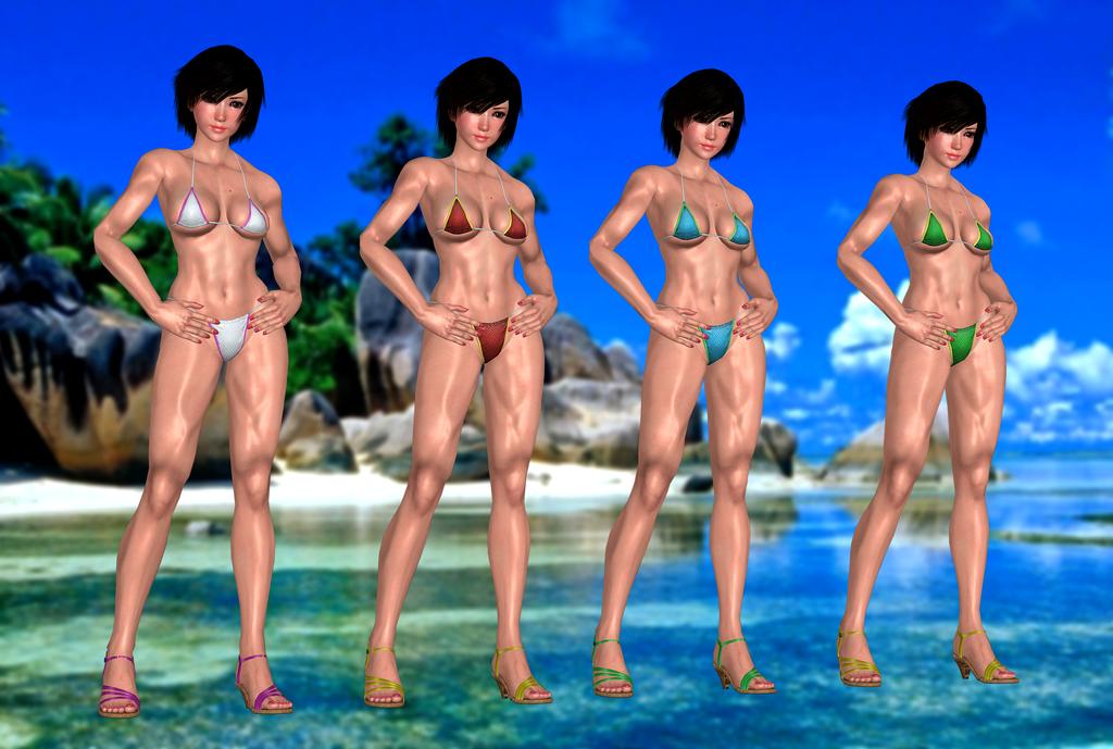 Rumble Rosen xx Marine Bikini