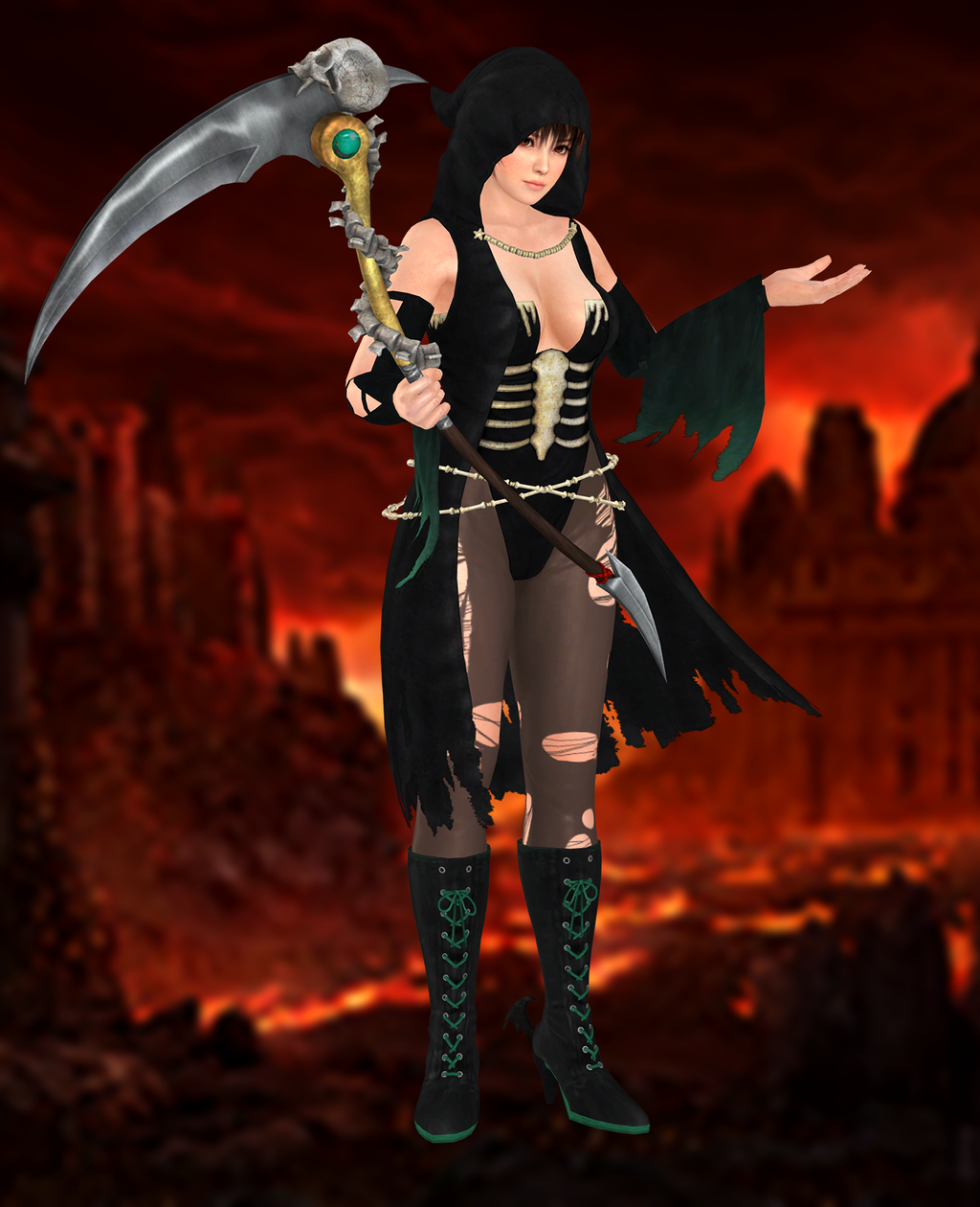 phase4halloween dead or alive 5 ultimate by xxkammyxx