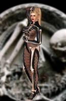 Rachel(Halloween) Dead or Alive 5 Ultimate by xXKammyXx