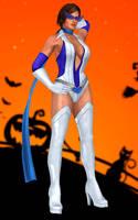 Lisa Hamilton(Halloween) Dead or Alive 5 Ultimate by xXKammyXx