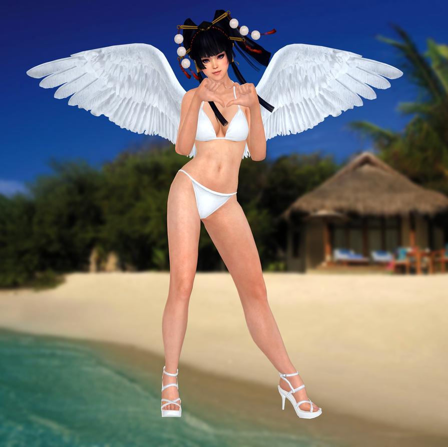 Nyotengu(Bikini) Dead or Alive 5 Ultimate by xXKammyXx