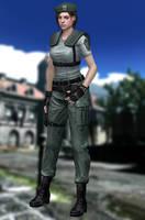 Jill Valentine(S.T.A.R.S.) Resident Evil HD by xXKammyXx