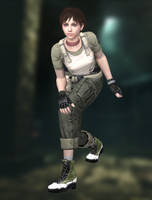Rebecca Chambers(S.T.A.R.S.) Resident Evil HD by xXKammyXx