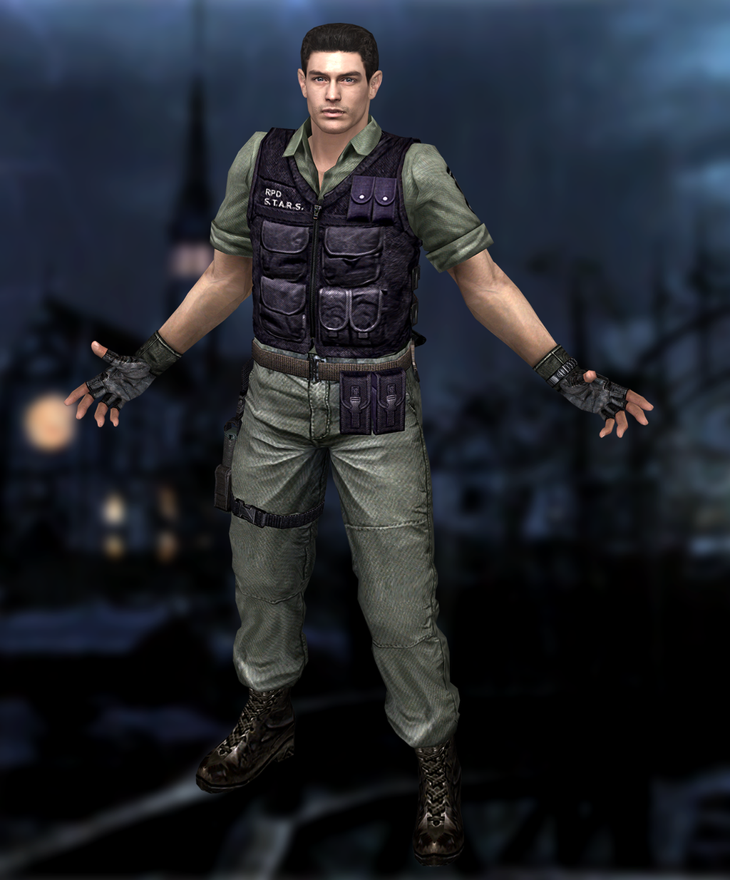 Resident Evil Hd Wallpaper: Chris Redfield(Rockford Gear) Resident Evil HD By