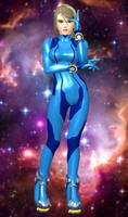 Samus Aran(Zero Suit) Super Smash Bros(Wii U).