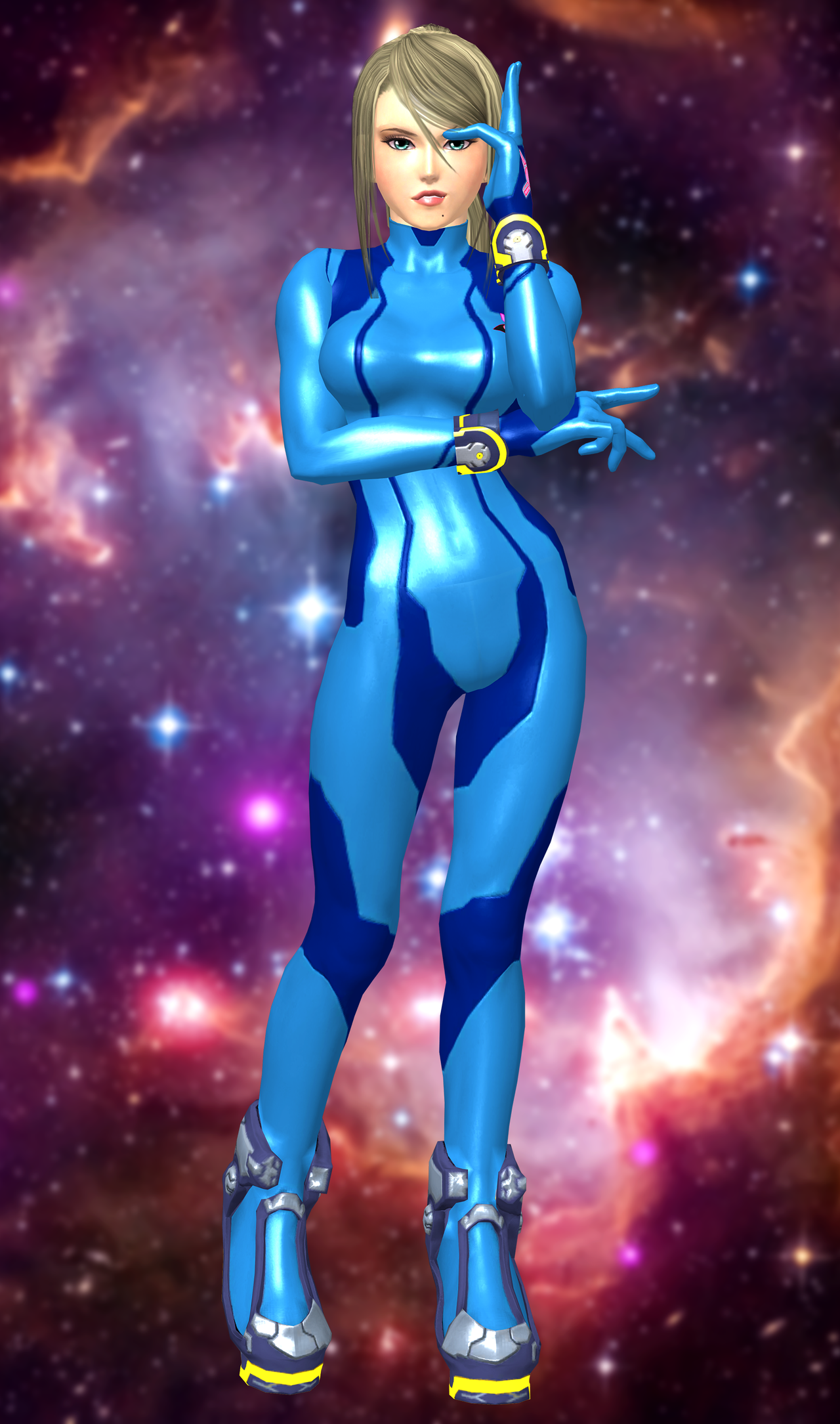 Samus Aran(Zero Suit) Super Smash Bros(Wii U). by XKamsonX ...