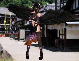 Nyo Tengu(Ninja) Dead or Alive 5 Last Round by xXKammyXx