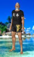 Genfu(Fighter) Dead or Alive 5 by xXKammyXx