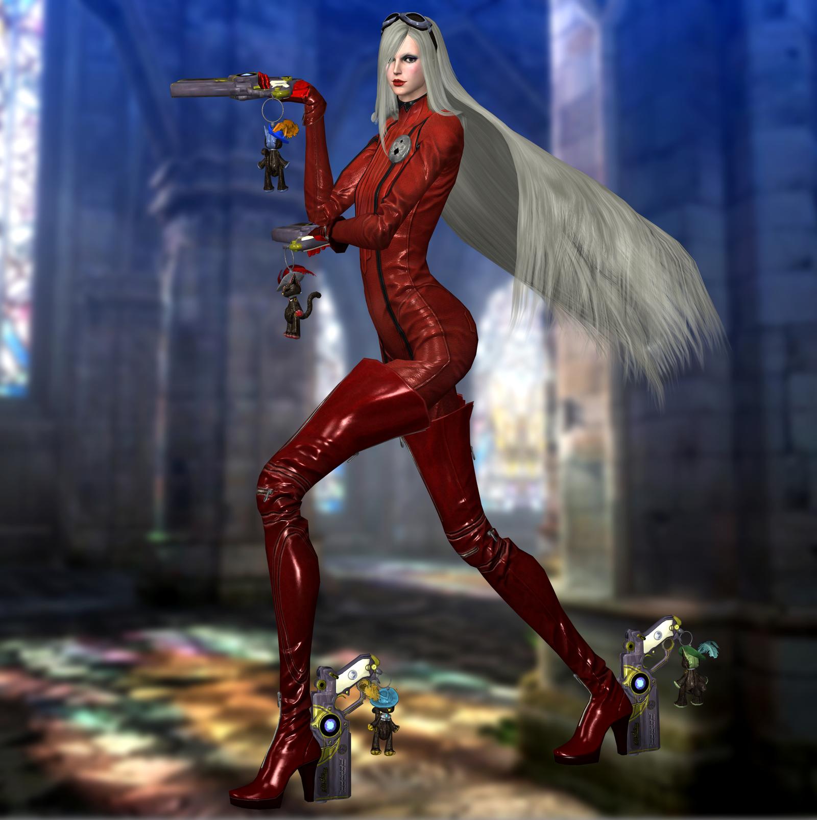 Jeanne(Default) Bayonetta 2 by xXKammyXx on DeviantArt