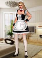 Rachel(Maid Mod) Dead or Alive 5 Last Round by xXKammyXx