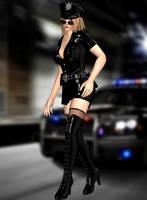 Sarah Bryant(SexyPoliceSlutMod) Dead or Alive 5 LR by xXKammyXx