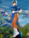 Chun-li(Default) Street Fighter V