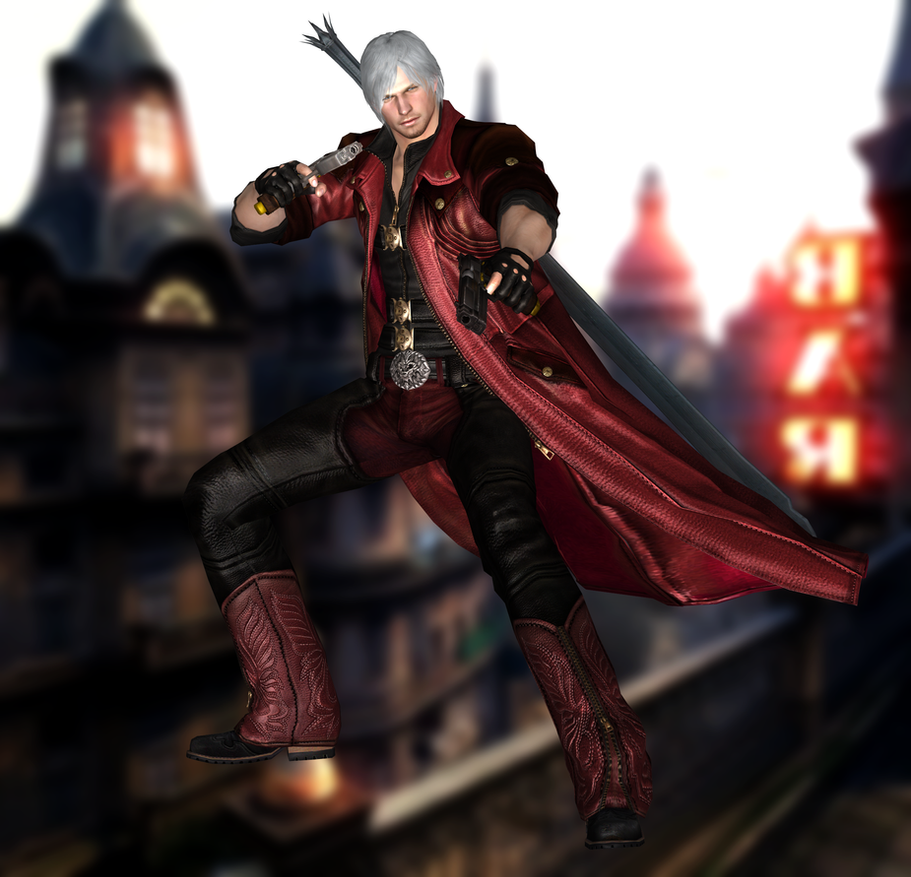 Dante(Default) Devil May Cry 4 Special Edition By