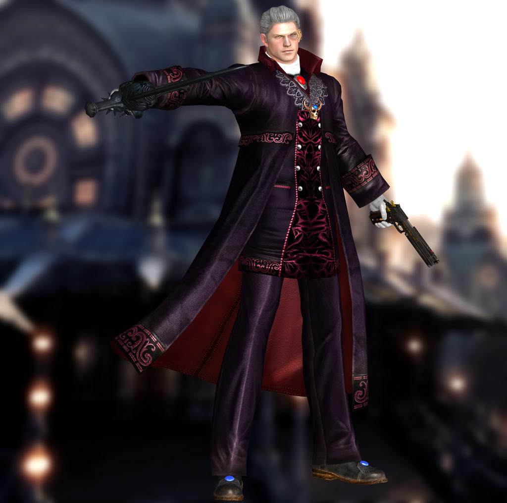 Dante(Sparda) Devil May Cry 4 Special Edition By XXKammyXx