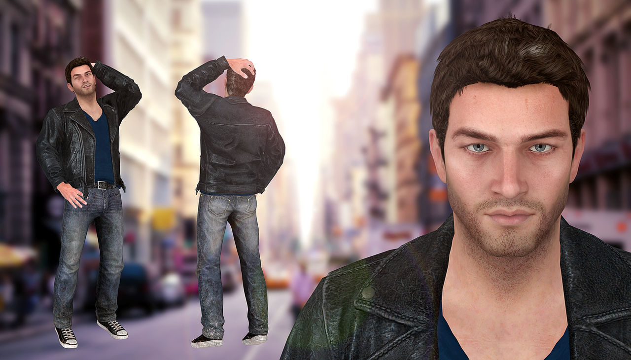 Nathan Drake Casual Mod Uncharted 3 Or Smt By Xkamillox On