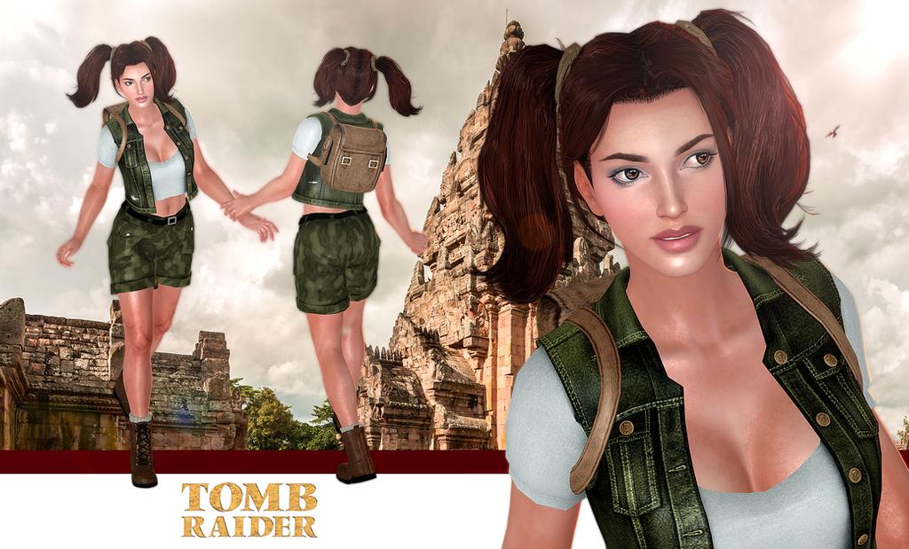 Lara Croft 3D Models Favourites By MicheleMouse On DeviantArt