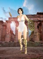 Momiji(Greek Warior) Dead or Alive by xXKammyXx
