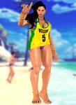 Laura Matsuda(Summer Costume) Street Fighter V